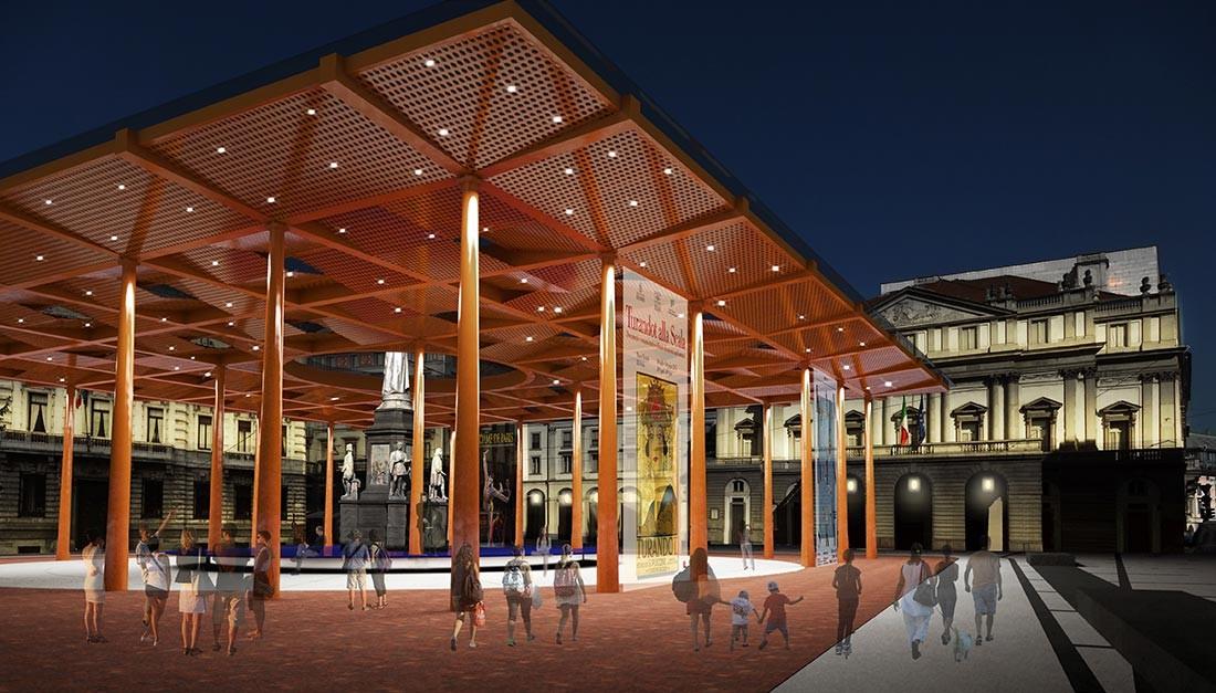 Piazza della Scala - mpa - marco pestalozza architetti
